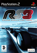 RS3: Racing Simulation Three PlayStation 2 Front Cover