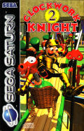 Clockwork Knight 2 SEGA Saturn Front Cover