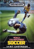 World Championship Soccer Genesis Front Cover