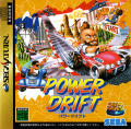 Power Drift SEGA Saturn Front Cover