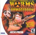 Worms: Armageddon Dreamcast Front Cover