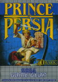Prince of Persia Game Gear Front Cover