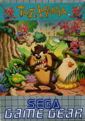 Taz-Mania Game Gear Front Cover