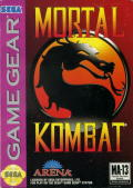 Mortal Kombat Game Gear Front Cover