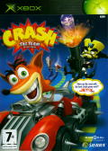 Crash Tag Team Racing Xbox Front Cover