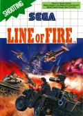 Line of Fire SEGA Master System Front Cover