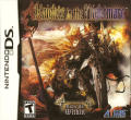 Knights in the Nightmare Nintendo DS Front Cover