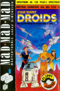 Star Wars: Droids Amstrad CPC Front Cover