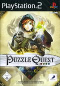 Puzzle Quest: Challenge of the Warlords PlayStation 2 Front Cover