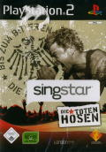 SingStar: Die Toten Hosen PlayStation 2 Front Cover