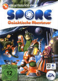 Spore: Galactic Adventures Macintosh Front Cover