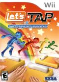 Let's Tap Wii Front Cover