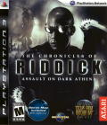 The Chronicles of Riddick: Assault on Dark Athena PlayStation 3 Front Cover