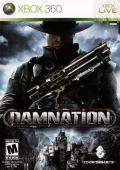 Damnation Xbox 360 Front Cover