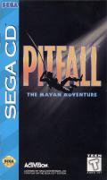 Pitfall: The Mayan Adventure SEGA CD Front Cover