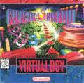 Galactic Pinball Virtual Boy Front Cover