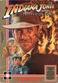 Indiana Jones and the Temple of Doom NES Front Cover
