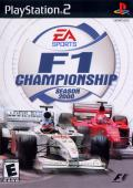 F1 Championship Season 2000 PlayStation 2 Front Cover