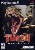 Turok: Evolution PlayStation 2 Front Cover