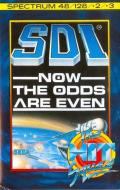 SDI: Strategic Defense Initiative ZX Spectrum Front Cover