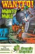 Wanted: Monty Mole ZX Spectrum Front Cover
