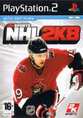 NHL 2K8 PlayStation 2 Front Cover