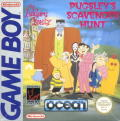 The Addams Family: Pugsley's Scavenger Hunt Game Boy Front Cover