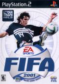 FIFA 2001: Major League Soccer PlayStation 2 Front Cover