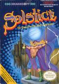 Solstice: The Quest for the Staff of Demnos NES Front Cover