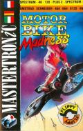 Motorbike Madness Amstrad CPC Front Cover