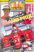 Nigel Mansell's Grand Prix ZX Spectrum Front Cover