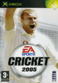 Cricket 2005 Xbox Front Cover