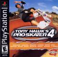 Tony Hawk's Pro Skater 4 PlayStation Front Cover