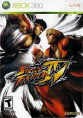Street Fighter IV Xbox 360 Front Cover