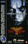 The Crow: City of Angels SEGA Saturn Front Cover