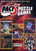 Pack 5 Puzzle Games Windows Front Cover Back cover identical except for ESRB logo