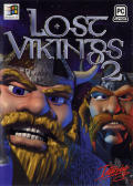 Norse by Norse West: The Return of the Lost Vikings DOS Front Cover
