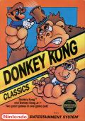Donkey Kong Classics NES Front Cover