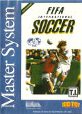 FIFA International Soccer SEGA Master System Front Cover