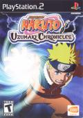 Naruto: Uzumaki Chronicles PlayStation 2 Front Cover