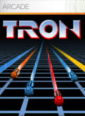 TRON Xbox 360 Front Cover