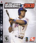 Major League Baseball 2K8 PlayStation 3 Front Cover