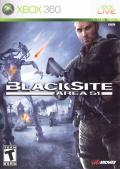 BlackSite: Area 51 Xbox 360 Front Cover