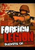 Foreign Legion: Buckets of Blood Macintosh Front Cover