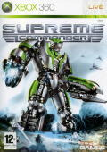 Supreme Commander Xbox 360 Front Cover