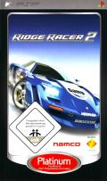Ridge Racer 2 PSP Front Cover