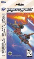 Galactic Attack SEGA Saturn Front Cover