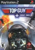 Top Gun: Combat Zones PlayStation 2 Front Cover