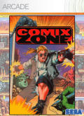 Comix Zone Xbox 360 Front Cover