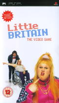 Little Britain: The Video Game PSP Front Cover